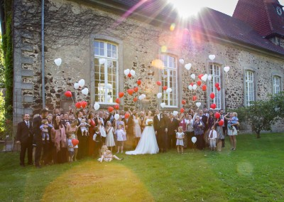 die Hochzeitsgesellschaft …
