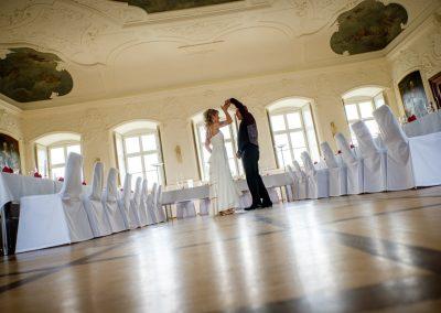 Hochzeitsfeier im Ballsaal