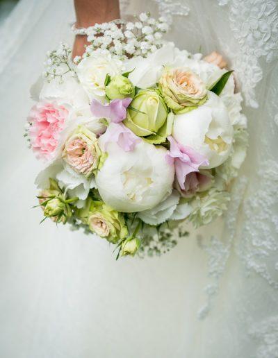 Biedermeier-Brautstrauß